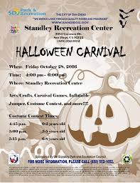 city of miramar halloween events standley recreation center programming and special events