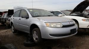 junkyard find 2004 saturn ion sedan with manual transmission