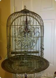 Birdcage Chandeliers Vintage Birdcage Chandelier