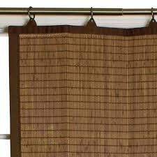 bamboo ring top kitchen u0026 tier curtains versailles home fashions