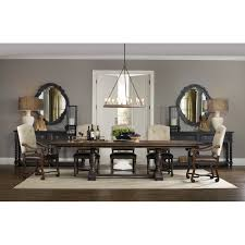 Hooker Furniture Treviso Extendable Dining Table  Reviews Wayfair - Hooker dining room sets