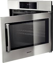 bosch hblp451ruc 30 inch single electric wall oven with 4 6 cu ft