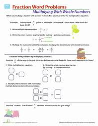 collection of solutions fraction word problems 5th grade