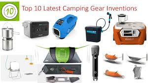 latest electronic gadgets top 10 latest camping gear inventions i best camping gadgets i