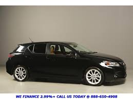 lexus for sale ct 2011 lexus ct 200h 2011 premium black brown warranty 018232 texas