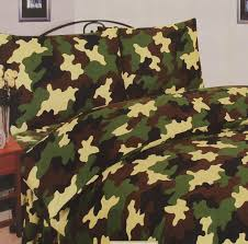 green camouflage duvet cover set free uk delivery terrys fabrics