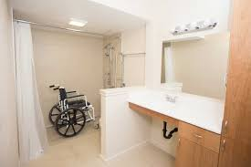 wheelchair accessible bathroom design wheelchair accessible bathroom for knee joint replacement thrive