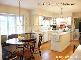 DIY Kitchen Makeover Kitchens - Kitchen cabinet makeover diy