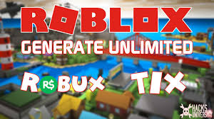 roblox hack generate unlimited robux and tix for free limited time