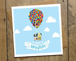 up u0027 new adventure card new home card disney pixar card etsy