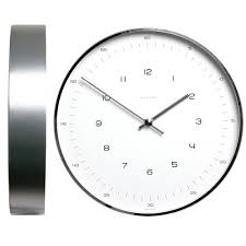 Office Wall Clocks Max Bill Modern Office Wall Clock With Numbers By Junghans Stardust