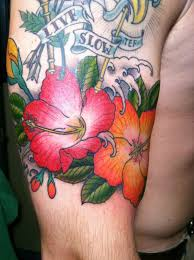 hibiscus flower tattoos meaning hibiscus meaning