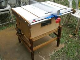 Bosch Saw Bench Homemade Table Saw 6 1 2