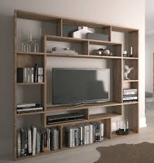 Shelving Units Shelving Unit Bookcase Display Storage Wood Shelf Tv Unit