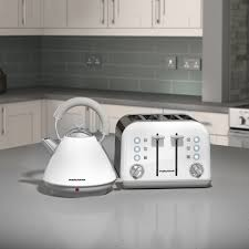4 Slice Toaster White Morphy Richards Accents 4 Slice Toaster White By Palmers