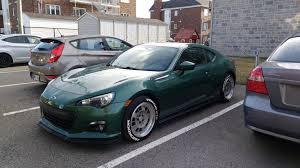 subaru light green 86modified feature car 1