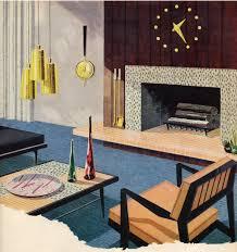 mid century modern living room home planning ideas 2017