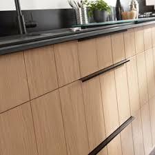 poignees cuisine lot de 2 poignées link noir 30cm evier poignée