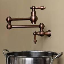 wall mount pot filler kitchen faucet vivan retractable wall mount pot filler kitchen pot fillers