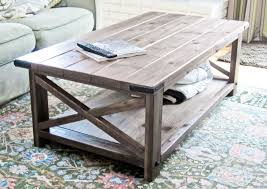 Build A Picnic Table Cost by Cheap Modern Rustic Coffee Table Plans For Building Your Own