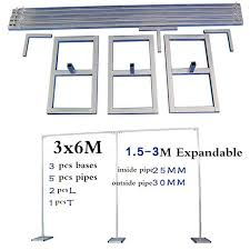 wedding backdrop stand many sizes wedding stainless steel pipe wedding backdrop stand with
