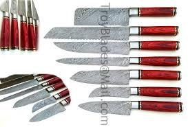 damascus steel kitchen knives troy blades shop custom made damascus steel kitchen knives