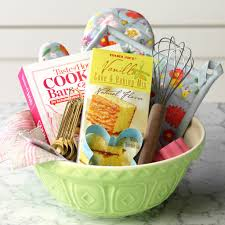 trader joe s gift baskets how to make a gift basket for the baker taste of home