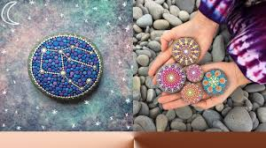 Painted Rocks For Garden by Painted Stones By Elspeth Mclean ᴴᴰ Youtube
