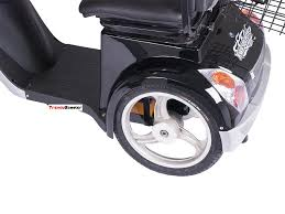 mobility scooter with automatic braking