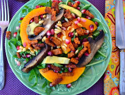 thanksgiving vegan ideas for a vegan thanksgiving part 5 winter squash salad with