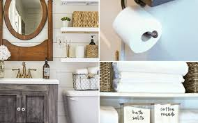 Bathroom Storage Ladder 10 Small Bathroom Storage And Organization Ideas Hint Hacks