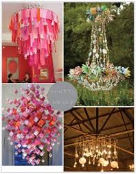 Paper Lantern Chandelier Paper Lantern Chandeliers Chandeliers Intended For