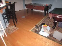 Laminate Flooring Flood Damage Water From Toilet Floods Basement Center Valley Pa