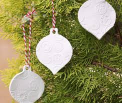 clay ornaments a spoonful of sugar