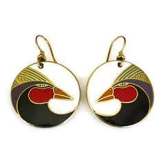 best vintage laurel burch earrings products on wanelo