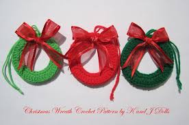 crochet christmas ornaments free patterns u2013 crochet for beginners