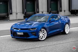 customized camaro customized blue chevy camaro for a modern car look carid