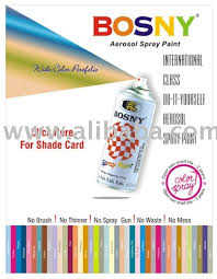 bosny spray paint color chart philippines for the average