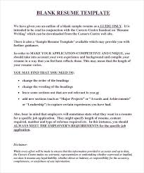 free resume forms blank free resume outline outline for resume traditional resume template