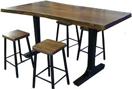 bar height table legs wood lancaster iron and wood furniture attractive counter height table