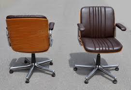 fauteuil de bureau knoll des chaises design vintage des ées 1950 à 80 de designers connus
