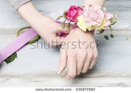 How To Make A Corsage Wristlet Wrist Corsage Stock Images Royalty Free Images U0026 Vectors