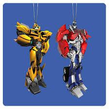 g1 non transforming transformers keepsake tree ornaments