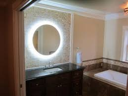 Bathroom Vanity Mirror Ideas Bathroom Fun Lighted Makeup Mirror Wall As Wells As Lighted