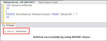 Delete All Rows From Table Prevent Accidental Update Or Delete Commands Of All Rows In A Sql