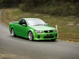 2007 Holden Ve Ss V Ute Green Front And Driver Side Speed