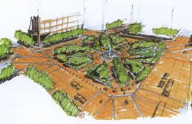 landscape design phoenix where will phoenicians gather outdoors to meet debate downtown