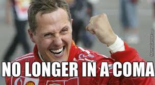 Good News Meme - meme center on twitter good news everyone michael schumacher