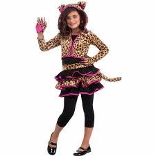 Costumes Girls Halloween Leopard Hoodie Child Halloween Costume Walmart