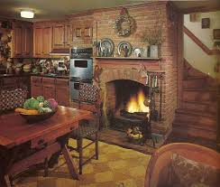 Kitchen Fireplace Design Ideas Kitchen Fireplace In Kitchen Stylish On White And Breakfast Room